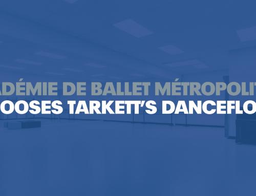 Académie de Ballet Métropolitain Chooses Tarkett's Dancefloor