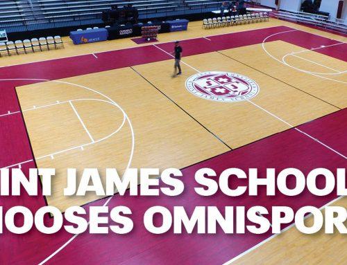 Saint James School Chooses Omnisports